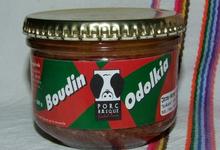 ferme Lekaio, Verrine de boudin de Porc Basque