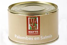 Palombe en salmis