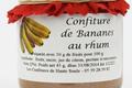 confiture de banane au rhum