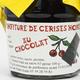 confiture de cerises noires au chocolat