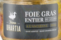 Ferme Uhartia,  foie gras entier de canard à l'ancienne
