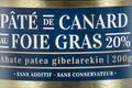 pâté au foie gras de la ferme Uhartia