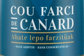cou de canard farci au foie gras de la ferme Uhartia