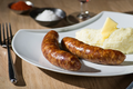 ferme Arnabar, Saucisses de Porc Confites
