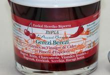bipia, Cerises au Vinaigre de cidre et piment d'Espelette Gerezi Berezi