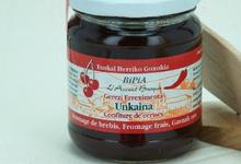 bipia, Confiture de Cerises Maison relevée au piment d'Espelette Unkiana
