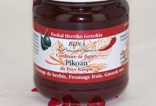 bipia, Confiture maison de figues violettes du Pays Basque Pikoan