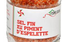 ferme Atxania, sel fin au Piment d'Espelette.