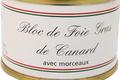 ferme Souletine, Bloc foie gras de canard avec morceaux