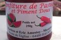 confiture de pastèque et piment doux rouge