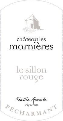 Vin rouge Pécharmant 2011- Le Sillon Rouge