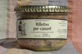 Barraquet, rillettes pur canard