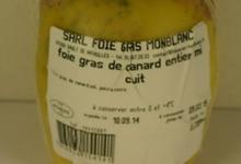 Foie gras entier de canard mi-cuit au jurançon