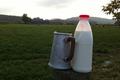Ferme de la porte d'Aspe, lait frais