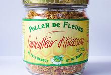 l'apiculteur d'Itxassou,   Pollen de Fleurs