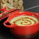 Le velouté de poireaux au piment Béarnais