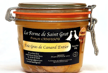 La Ferme de Saint Grat , Foie gras de canard entier