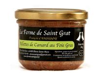 La Ferme de Saint Grat , Rillettes au foie gras