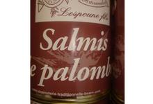 charcuterie Lespoune, salmis de palombes