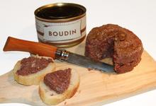 ferme Puyade, Boudin noir en conserve