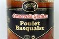 conserverie Gratien,  Poulet Basquaise