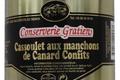 conserverie Gratien, Cassoulet aux manchons de canard confits