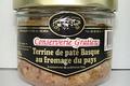 conserverie Gratien,  Terrine de pâté Basque au fromage du Pays