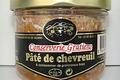 conserverie Gratien, Pâté de chevreuil