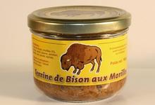 Terrine de Bison du Poitou aux Morilles