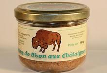 Terrine de Bison du Poitou aux Châtaignes