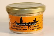 Rillettes de Poissons sauvages aux Ecrevisses