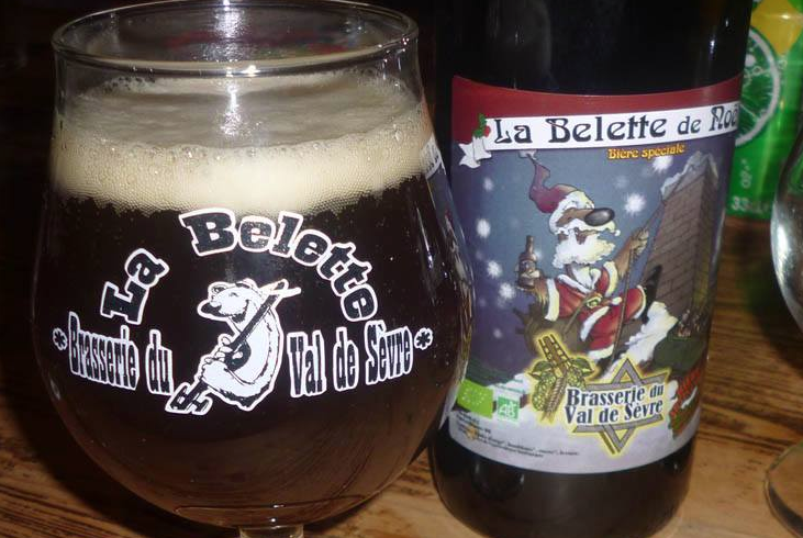 """Bière """"belette de Noël"""""""