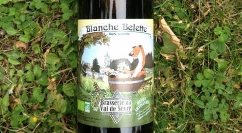 """Bière Blanche """"Blanche Belette"""""""