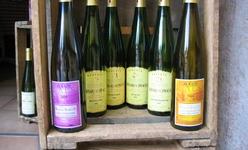 Les vins d'Alsace, élégants dans leurs bouteilles élancées
