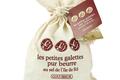 20 Petites Galettes Goulibeur au sel de l'île de Ré en Sac Coton