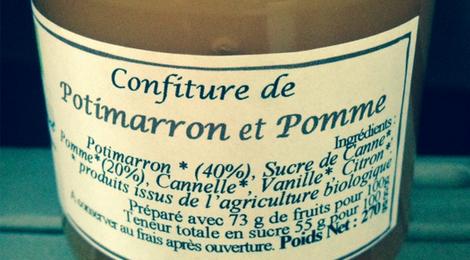 Confiture de Potimarron-Pomme