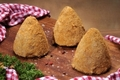 Jambonneau pané, ferme de Moneuse