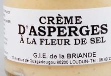 Crème d'asperge à la fleur de sel