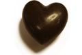 Coeur à croquer à deux, noir