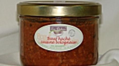Boeuf cuisiné bolognaise