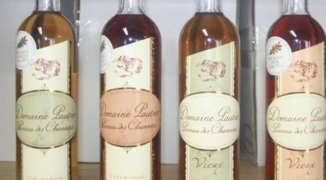 Le Pineau des Charentes Vieux Rosé du Domaine Pautier