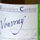Vignoble Carême, vouvray sec