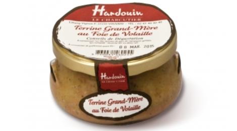 Hardouin, Terrine Grand-Mère Au Foie De Volaille