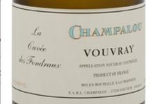 domaine Champalou, Vouvray La Cuvée des Fondraux