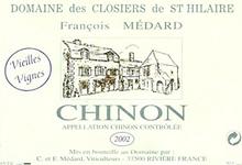 domaine des closiers de Saint-Hilaire, cuvée vieilles vignes