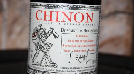 Chinon Domaine de Beauséjour