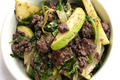 salade boudin campagnard/pommes vertes Terroir Aveyronnais