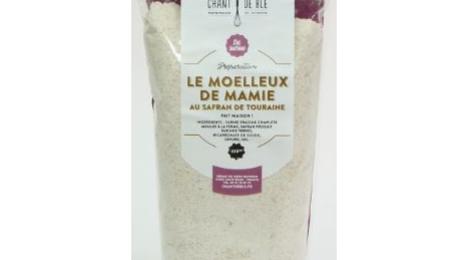 Chant de blé, Préparation pour moelleux de mamie au safran de Touraine