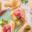Babas aux poires au romarin et Jambon de Parme