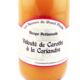 Velouté carotte coriandre